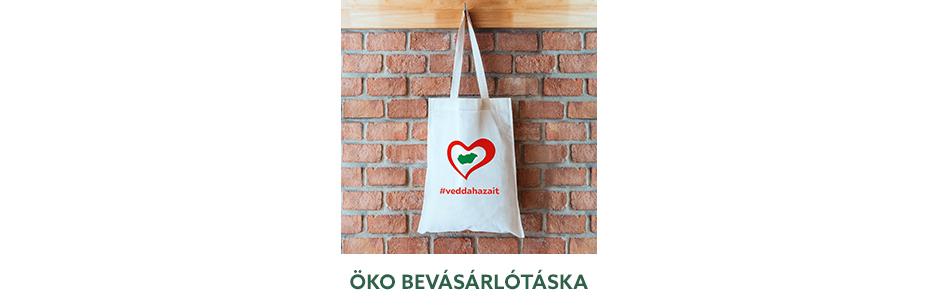 #veddahazait - Öko bevásárlótáska