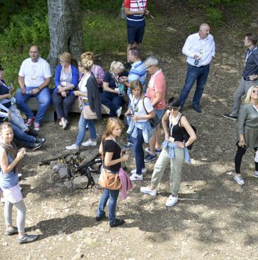 Galyatető-kilátó csoportkép