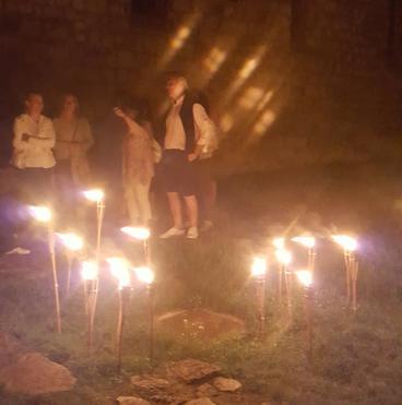 Bélapátfalvai Ciszterci Apátság - éjszakai idegenvezetés