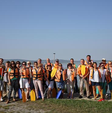 Velencei-tó, csoportkép