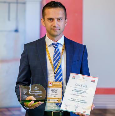 Noszlopy Zoltán - CBA beszerzési igazgatója