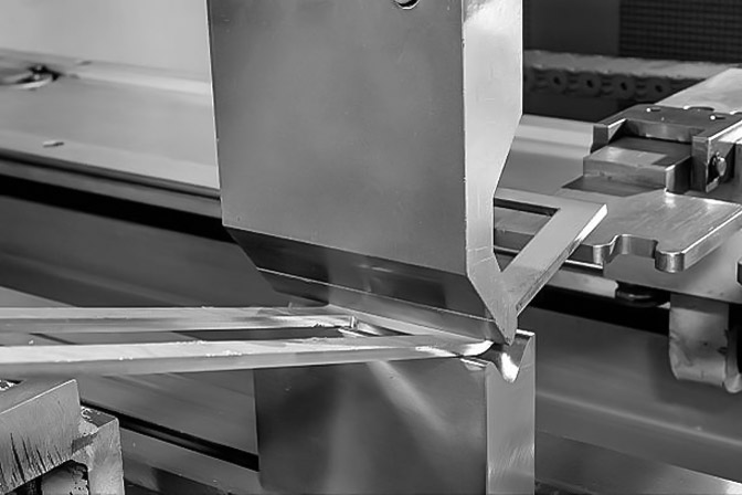 Sheet metal bending